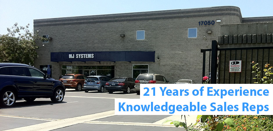 21 years of experience, knowledgeable sales reps